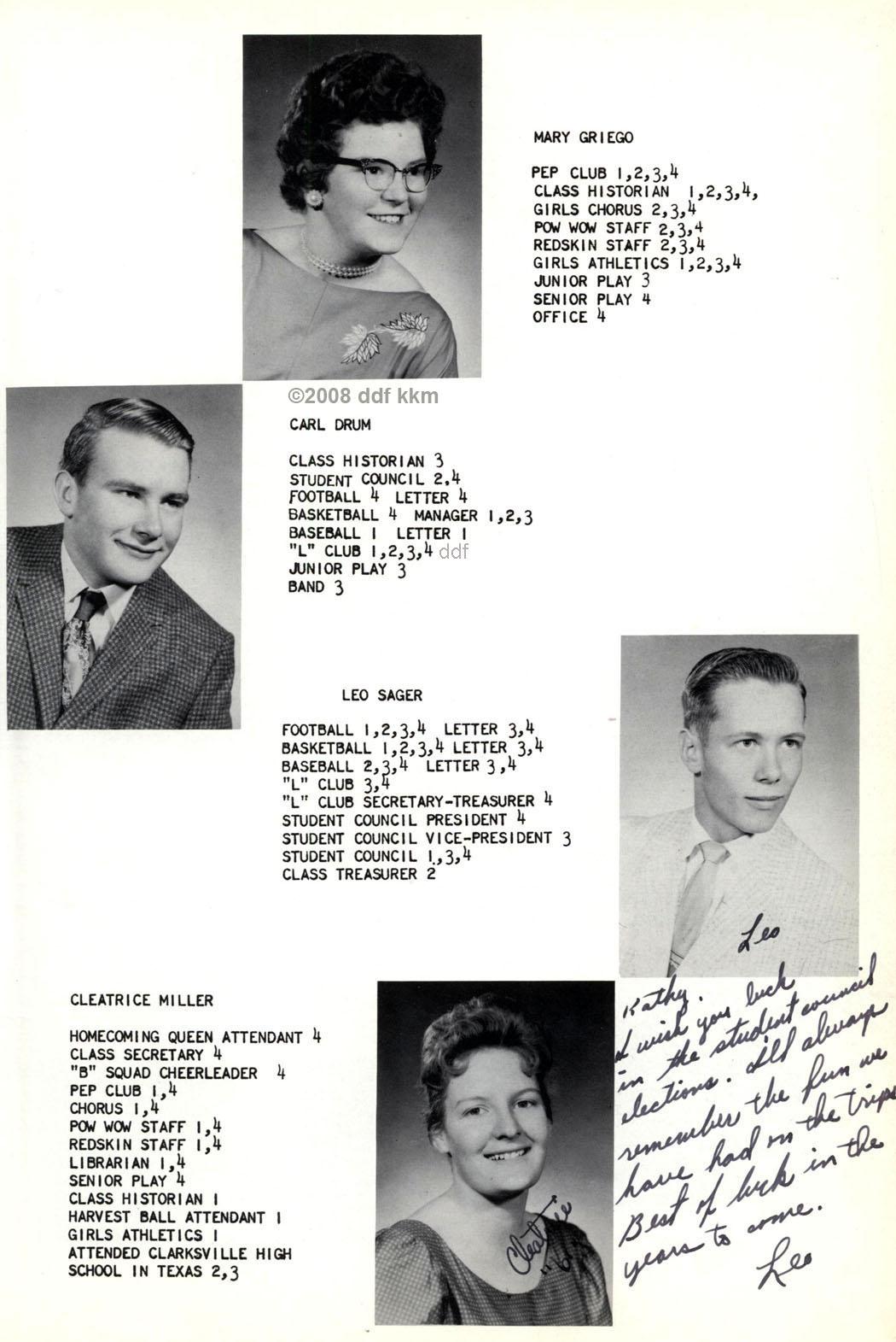 1961 LaVeta Yearbook